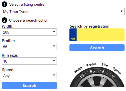 Tyre Multi-Search